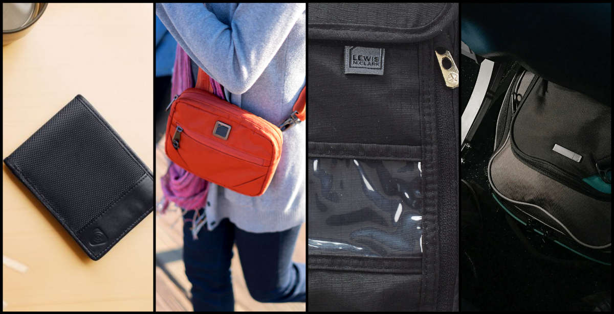 One Size Lewis N Clark Luggage Rfid Id Holder With Security Shield Black